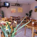 Our Restaurant&TV Room