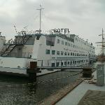 View of Amstel Botel May 2012