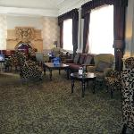 Royal Hotel lounge