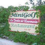 Mini-golf @ Jardin de Lourmarin