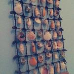Shell props in the bedroom