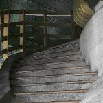 The stairs in the monument dome.