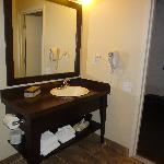 Salle de bain de chambre standard
