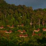 Pic of hillside bungalows
