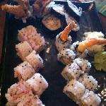 Sushi (Rock N Roll/Cucumber Roll/Shrimp Tempura Roll)