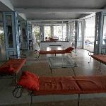 Hotel lounge/sofas