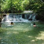 Poza en Cascadas de Copalitilla