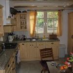 Kitchen at 20 Heerenstraat apartment