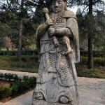 Stone Warrior on the Sacred Path to Ming Tomb Area