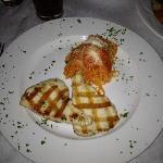 My very delicious Escolar and pasta