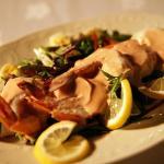 Light meal for Picnic dinner in the desert