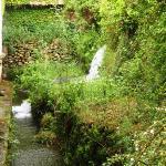 L'une des chutes d'eau du parc