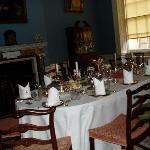 questa è la sala da pranzo