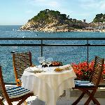 Terraza Restaurante Vista Castillo
