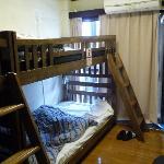 Unisex dorm room