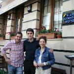 Jean,  Ozcan und Kathrin