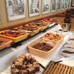 Weekend brunch buffet (some of it)