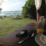 Frühstücksbereich - Ocean Spray Beach Apartment