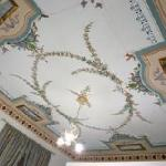 dipinto del soffitto nella stanza