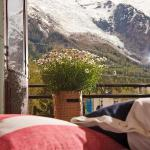 Room with a view of Mont Blanc