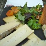 a fabulous cheese plate