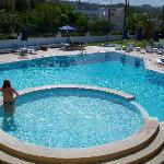 danae hotel faliraki pool