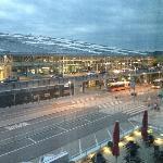 Overlooking the airport