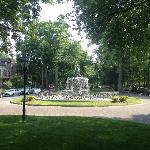 A park in the middle of the 1400 Block of St.James Court