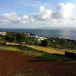 Vue sur S. Roque do Pico