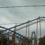 The KUMALI, the biggest roller coaster at Flamingo Land