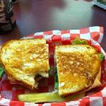 The Stingray...turkey,bacon,cheese on toasted sourdough bread