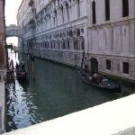 Venice canal within walking distance from hotel.