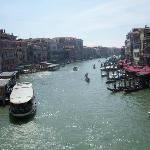 Venice Grand Canal within walking distance from hotel.