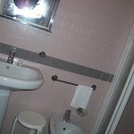 Hotel bathroom.