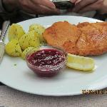 This is typical schnitzel in Germany and Austria--breaded