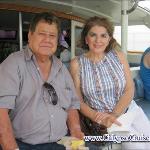 en el catamaran listos para nuestra aventura isla tortuga