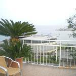 terrazza 4° piano fronte mare