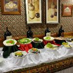 Great salad buffet