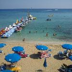 Fig Tree bay - some of the water activities