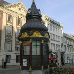 Historic kiosk, Nytorv