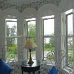 Bay window in our room