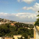 vier over Beirut towards the Mediterannean sea