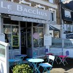 Outside Le Bacchus