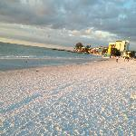 Siesta Key Beach, right around the corner from the resort