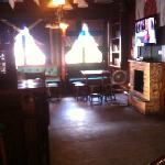Paddy's restaurant interior.