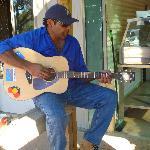 Warren Millera playing some tunes