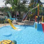 piscina para los chicos!