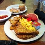 A few of the choices from the breakfast buffet.