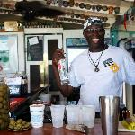 Mic, the best bartender in the Caribbean