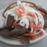 Extra meat Gyro (only $1. more)